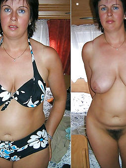 curvy mature dressed undressed pictures