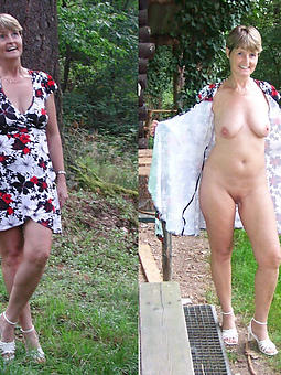 Mature Women Dressed And Nude