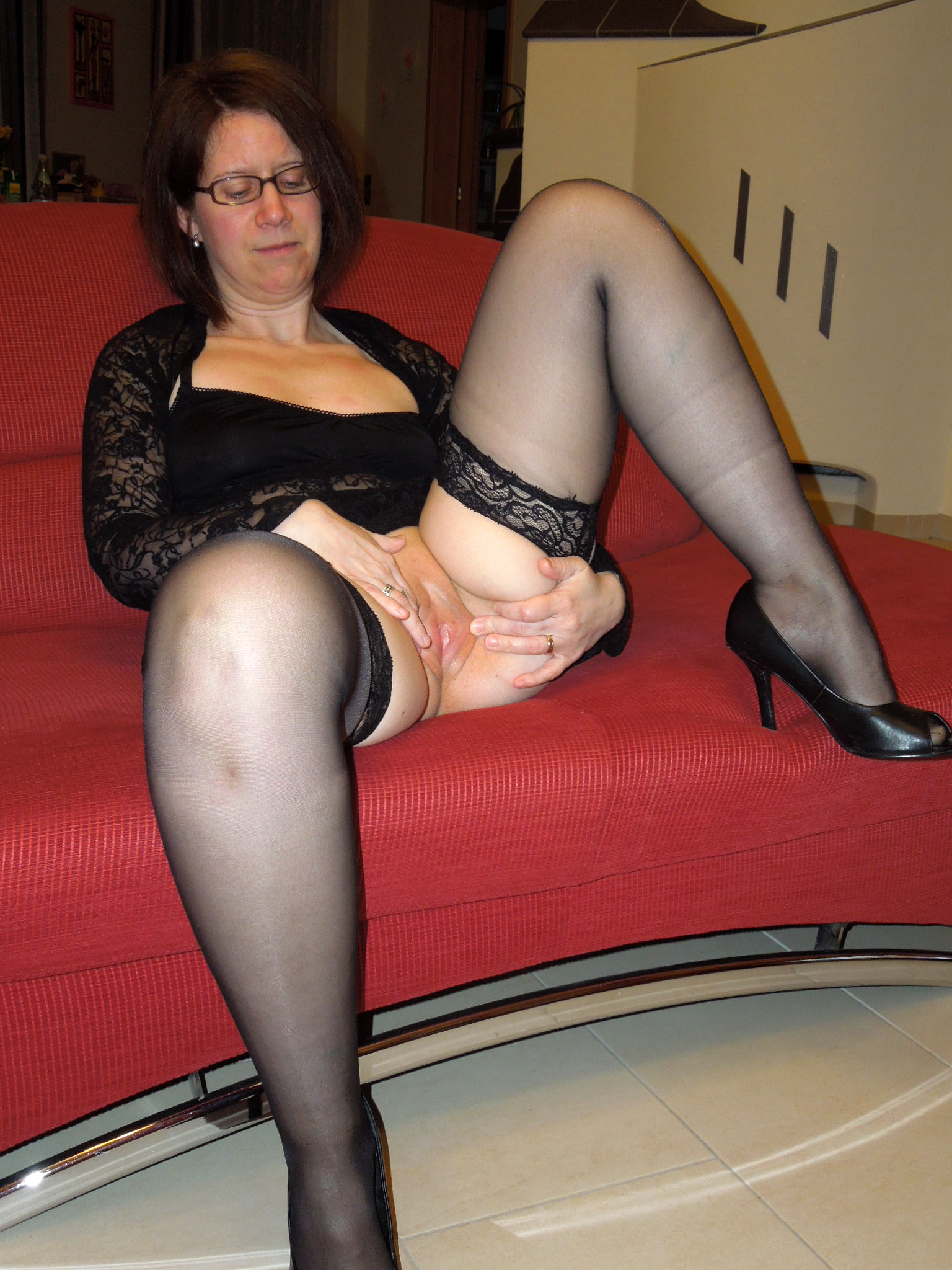 That interrupt milf mature strocking think
